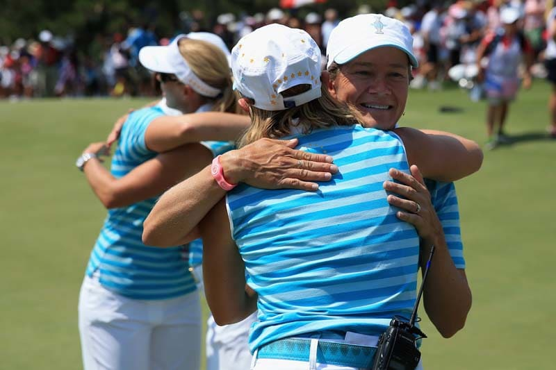 Catriona Matthew and Annika Sorenstam