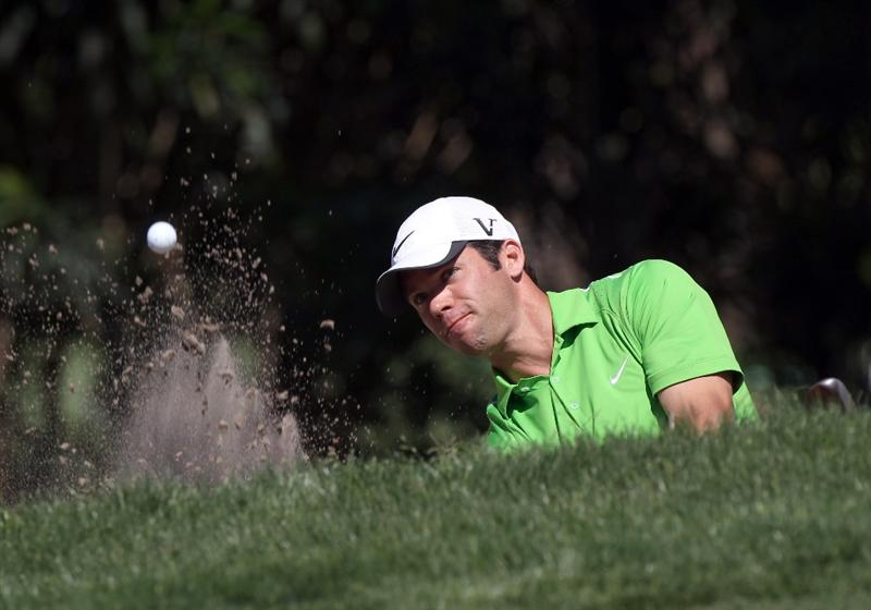PALM HARBOR, FL - MARCH 17:  Paul Casey of England plays a shot on the 16th hole during the first round of the Transitions Championship at Innisbrook Resort and Golf Club on March 17, 2011 in Palm Harbor, Florida.  (Photo by Sam Greenwood/Getty Images)