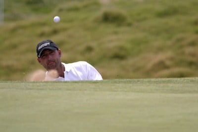Adam Crawford of Australia during the final round of the Jacob's Creek Open Championship, February 19, 2006, held at Royal Adelaide Golf Club, Adelaide, Australia.Photo by Jamie McDonald/WireImage.com