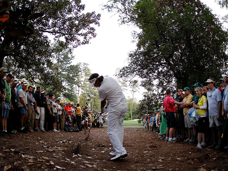 Bubba Watson at the 2012 Masters
