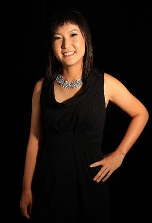 SINGAPORE - MARCH 04: Candie Kung of Taiwan poses for a portrait during the welcome reception at the Asian Civilisations Museum prior to the start of the HSBC Women's Champions on March 4, 2009 in Singapore  (Photo by Scott Halleran/Getty Images)