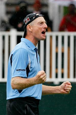 ATLANTA - SEPTEMBER 26:  Jim Furyk celebrates winning the FedExCup and THE TOUR Championship presented by Coca-Cola, the final event of the PGA TOUR Playoffs for the FedExCup, at East Lake Golf Club on September 26, 2010 in Atlanta, Georgia.  (Photo by Kevin C. Cox/Getty Images)