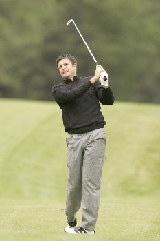 Richard Bland during the third round of the 2005 KLM Open at Hilversumsche Golf Club in the Netherlands on June 11, 2005.Photo by Pete Fontaine/WireImage.com