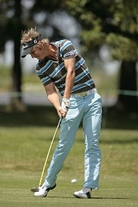 Fredrik Jacobson on the first fairway during the fourth and final round of the Buick Open held at Warwick Hills Golf & Country Club in Grand Blanc, Michigan, on July 1, 2007. Photo by: Chris Condon/PGA TOURPhoto by: Chris Condon/PGA TOUR