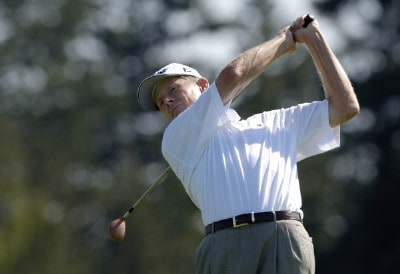 Mike Reid during the third round of the JELD-WEN Tradition at The Reserve Vineyards & Golf Club in Aloha, Oregon on Saturday, August 26, 2006.Photo by Steve Levin/WireImage.com