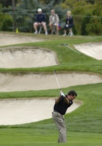 Bruce Lietzke during the first round of the JELD-WEN Tradition at The Reserve Vineyards & Golf Club in Aloha, Oregon on Thursday, August 24, 2006.Photo by Steve Levin/WireImage.com