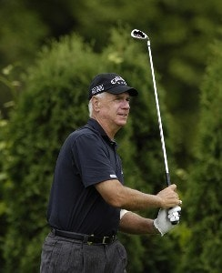 Bruce Fleisher during the first round of the JELD-WEN Tradition at The Reserve Vineyards & Golf Club in Aloha, Oregon on Thursday, August 24, 2006.Photo by Steve Levin/WireImage.com
