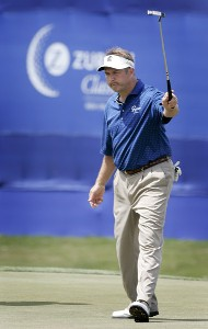 Ken Duke during the fourth and final round of the Zurich Classic of New Orleans held at TPC Louisiana in New Orleans, Louisiana, on April 22, 2007. Photo by: Stan Badz/PGA TOURPhoto by: Stan Badz/PGA TOUR