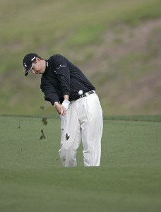 J.J. Henry during the second round of THE PLAYERS Championship held at the TPC Stadium Course in Ponte Vedra Beach, Florida on March 24, 2006.Photo by Sam Greenwood/WireImage.com