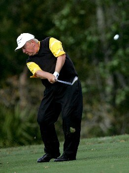 PALM HARBOR, FL - MARCH 8:  Billy Mayfair hits on the seventh hole during the third round of the PODS Championship at Innisbrook Resort and Golf Club March 8, 2008 in Palm Harbor, Florida.  (Photo by Sam Greenwood/Getty Images)