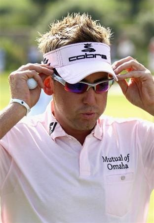 CASARES, SPAIN - MAY 22:  Ian Poulter of England pauses just after winning the Volvo World Match Play Championship at Finca Cortesin on May 22, 2011 in Casares, Spain.  (Photo by Warren Little/Getty Images)