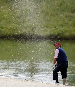 Italy's Costantino Rocca in action during the first round of the 2007 BA - CA Golf Open at Fontana Golf Club in Vienna, Austria on June 7, 2007.