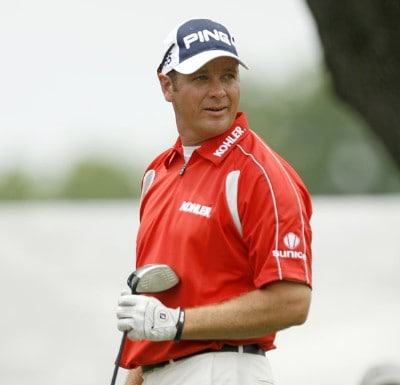 Ted Purdy in action during the first round of the Crowne Plaza Invitational at Colonial at the Colonial Country Club in Fort Worth, Texas on May 24, 2007. PGA TOUR - 2007 Crowne Plaza Invitational at Colonial - First RoundPhoto by Steve Grayson/WireImage.com