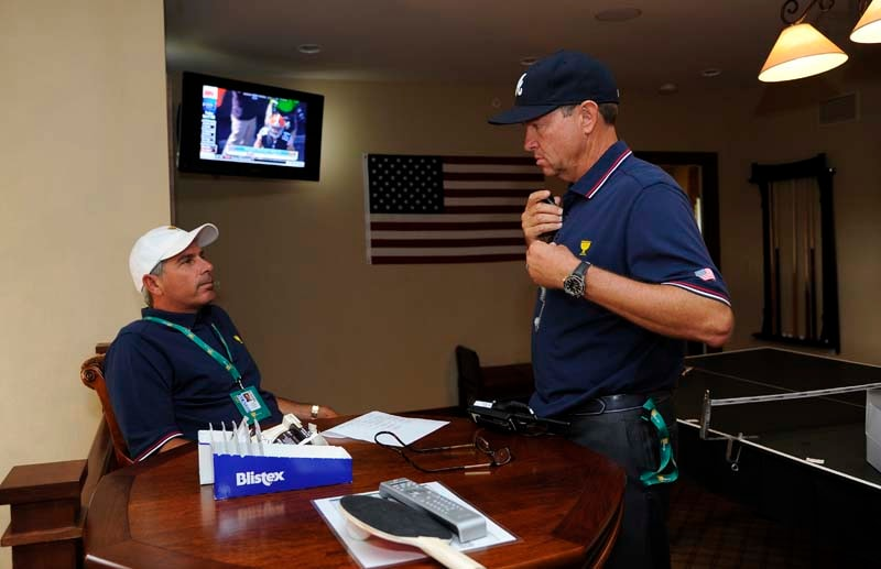 Fred Couples and Davis Love III