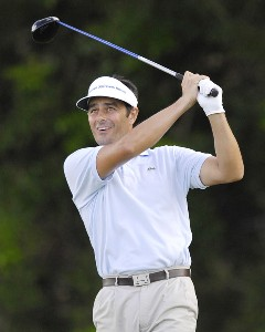 Jean Van De Velde of France during the third round of the WGC-Barbados World Cup held on the Country Club Course at the Sandy Lane Resort in St. James, Barbados on December 9, 2006. PGA TOUR - WGC - 2006 Barbados World Cup - Third RoundPhoto by Steve Levin/WireImage.com