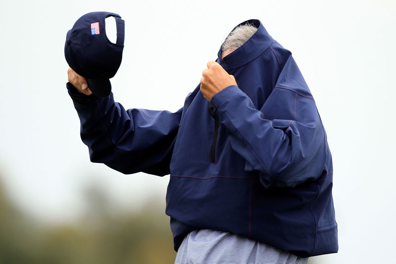 Fred Couples at the 2011 Presidents Cup
