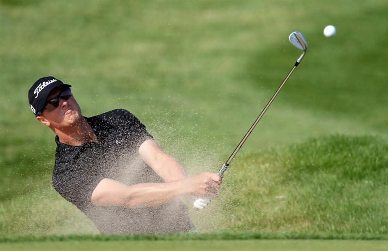 NEWPORT, WALES - JUNE 04: Fredrik Andersson Hed of Sweden during the second round of the Celtic Manor Wales Open on the 2010 Course at the Celtic Manor Resort on June 4, 2010 in Newport, Wales.  (Photo by Ross Kinnaird/Getty Images)