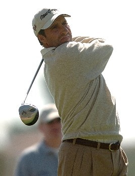 Jose Maria Olazabal in action during the third round of the PGA's Tour 2005 Chrysler Classic of Tucson at the Omni Tucson National Golf Resort & Spa February 26, 2005 in Tuscon, Arizona.