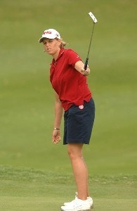 Wendy Ward in action during the final round of the inaugural 2006 Fields Open in Hawaii at Ko Olina Golf Club in Kapolei, Hawaii February 25, 2006.Photo by Steve Grayson/WireImage.com