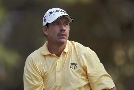 Bart Bryant during the third round of THE TOUR Championship at East Lake Golf Club in Atlanta, Georgia on November 5, 2005.Photo by Hunter Martin/WireImage.com