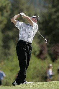 Steve Flesch during the fourth and final round of the Reno Tahoe Open held at Montreux Golf and Country Club in Reno, Nevada, on August 5, 2007. PGA TOUR - 2007 Reno Tahoe Open - Final RoundPhoto by S. Badz/WireImage.com