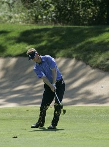 John Senden during the second round of the John Deere Classic at TPC at Deere Run in Silvis, Illinois on July 14, 2006.Photo by Michael Cohen/WireImage.com