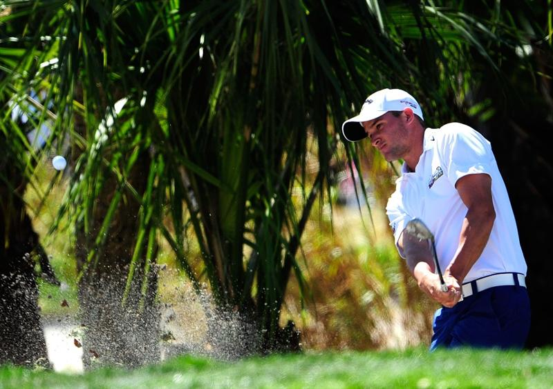 PALM BEACH GARDENS, FL - MARCH 07:  Sam Saunders plays a shot on the 1st hole during the final round of the Honda Classic at PGA National Resort And Spa on March 7, 2010 in Palm Beach Gardens, Florida.  (Photo by Sam Greenwood/Getty Images)