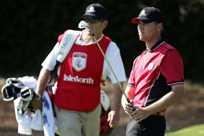 ORLANDO, FL - MARCH 14: Sean O'Hair of the USA and the Isleworth Club on the 16th hole during the first day of the 2011 Tavistock Cup at Isleworth Golf Club on March 14, 2011 in Orlando, Florida.  (Photo by David Cannon/Getty Images)