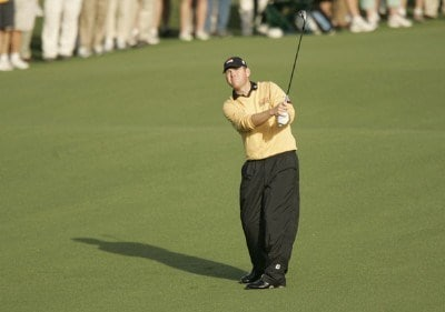 Troy Matteson during the first round of the 2007 Masters at the Augusta National Golf Club in Augusta, Georgia, on April 5, 2007. The 2007 Masters - First RoundPhoto by Mike Ehrmann/WireImage.com