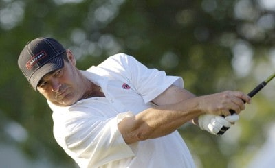Ben Bates during the second round of the Rheem Classic presented by Times Record held at Hardscrabble Country Club in Fort Smith, Arkansas, on May 12, 2006.Photo by Steve Levin/WireImage.com