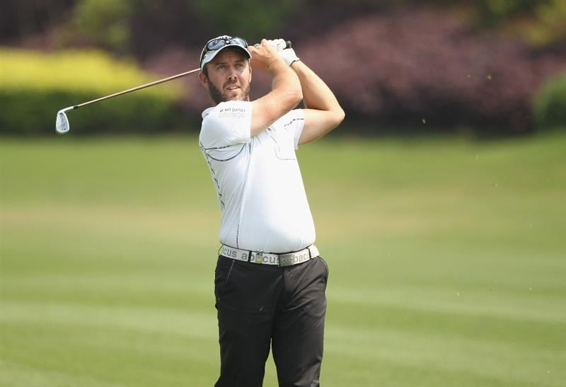CHENGDU, CHINA - APRIL 24:  Christian Nilsson of Sweden in action during day four of the Volvo China Open at Luxehills Country Club on April 24, 2011 in Chengdu, China.  (Photo by Ian Walton/Getty Images)