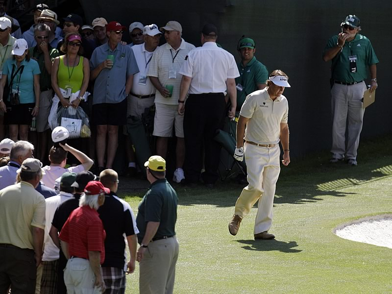 Phil Mickelson, Masters