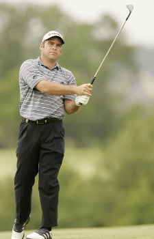 Hennie Otto during the first round of the 2005 Aa St Omer Open at the Aa St Omer Golf Club. June 16, 2005Photo by Pete Fontaine/WireImage.com