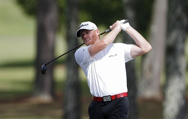 ATHENS, GA - MAY 05:  Mark Anderson hits a shot during the first round of the Stadion Classic at UGA held at the University of Georgia Golf Course on May 5, 2011 in Athens, Georgia.  (Photo by Michael Cohen/Getty Images)