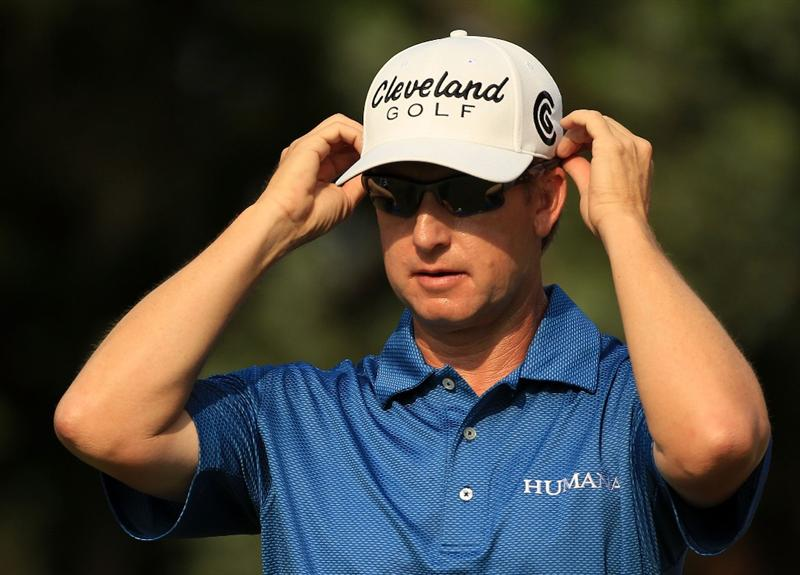 PONTE VEDRA BEACH, FL - MAY 13:  David Toms looks on from the fifth hole during the second round of THE PLAYERS Championship held at THE PLAYERS Stadium course at TPC Sawgrass on May 13, 2011 in Ponte Vedra Beach, Florida.  (Photo by Streeter Lecka/Getty Images)