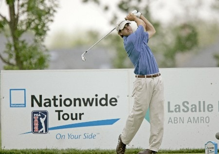 Mario Tiziani on the 17th hole during the third round of the 2005 LaSalle Bank Open at the The Glen Club in Glenview, Illinois on June 11, 2005.Photo by Mike Ehrmann/WireImage.com
