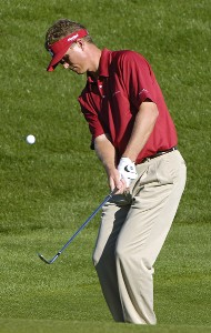 John Senden in action during the third round of the Bob Hope Chrysler Classic at The Classic Club on Friday, January 20, 2006 in Palm Desert, California.Photo by Marc Feldman/WireImage.com