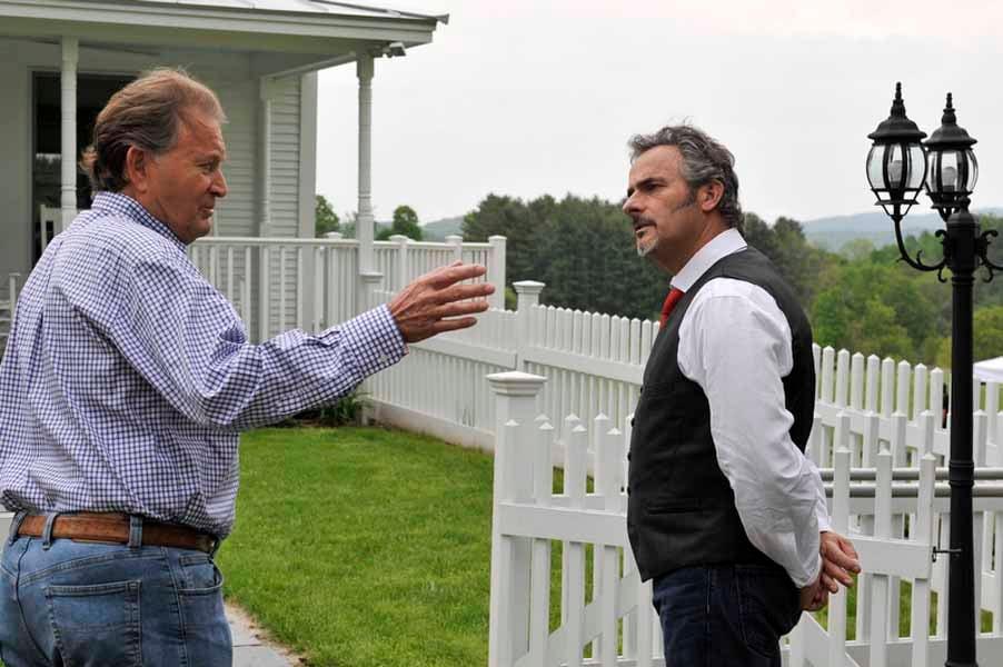 David Feherty and Raymond Floyd