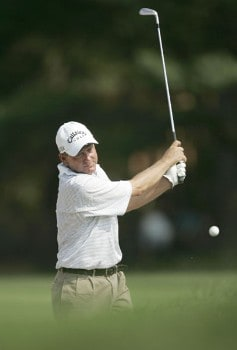 Mark Brooks during the first round of the 2005 PGA Championship at Baltusrol Golf Club in Springfield, New Jersey on August 11, 2005.Photo by Hunter Martin/WireImage.com