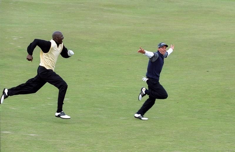 Michael Jordan and Sergio Garcia