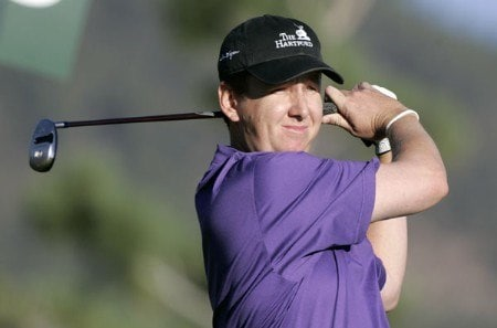 J.J. Henry in action during the first round at the Reno-Tahoe Open,  August 18,2005, held at Montreux GC, Reno, Nevada.Photo by Stan Badz/PGA TOUR/WireImage.com