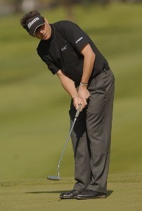 Billy Andrade in action during the first round of the PGA TOUR's 2006 Buick Invitationa at Torrey Pines South in La Jolla, California January 26, 2006Photo by Steve Grayson/WireImage.com