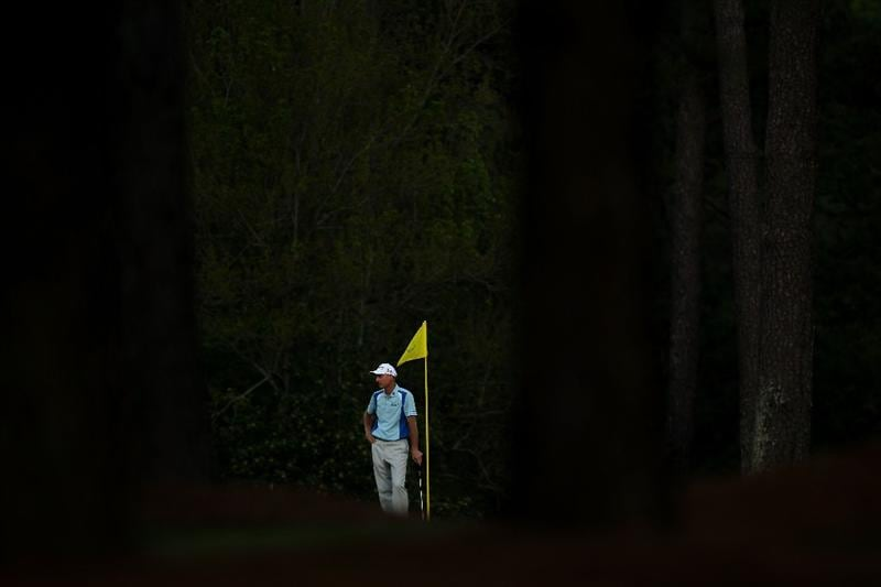 AUGUSTA, GA - APRIL 07:  Jim Furyk wait to putt on the 17th green during the first round of the 2011 Masters Tournament at Augusta National Golf Club on April 7, 2011 in Augusta, Georgia.  (Photo by Jamie Squire/Getty Images)