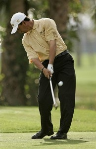 Tom Pernice Jr. during the first round of the Honda Classic on the Champion Course at PGA National in Palm Beach Gardens, Florida on Thursday, March 1, 2007. PGA TOUR - The 2007 Honda Classic - First RoundPhoto by Sam Greenwood/WireImage.com