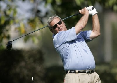 Fuzzy Zoeller in action during the secound round of the 2007 PGA Champion's TOUR at Newport Beach Country Club in Newport Beach, California on March 10, 2007. Champions Tour - 2007 Toshiba Classic - Second RoundPhoto by Steve Grayson/WireImage.com