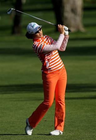 CARLSBAD, CA - MARCH 26:  Hee Kyung Seo of South Korea hits her second shot on the sixth hole during the second round of the Kia Classic Presented by J Golf at La Costa Resort and Spa on March 26, 2010 in Carlsbad, California.  (Photo by Stephen Dunn/Getty Images)
