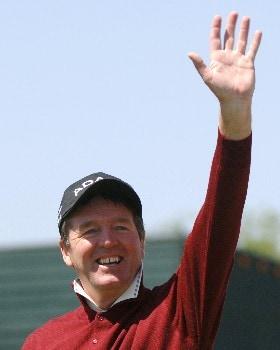 Des Smyth wins  the 2005 Liberty Mutual Legends of Golf tournament, April 24, in Savannah.Photo by Al Messerschmidt/WireImage.com