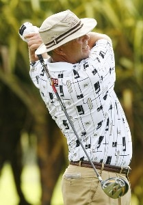 Kirk Triplett during the third round of the Mercedes-Benz Championship held on the Plantation Course at Kapalua in Kapalua, Maui, Hawaii, on January 6, 2007. Photo by: Stan Badz/PGA TOURPhoto by: Stan Badz/PGA TOUR