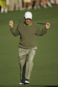 Ben Crenshaw during the first round of the 2006 Masters at the Augusta National Golf Club in Augusta, Georgia on April 6, 2006.Photo by Sam Greenwood/WireImage.com