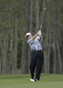Frank Lickliter II during the second round of the Shell Houston Open at the Redstone Golf Club,Tournament Course, Humble, Texas, on Friday, April 21, 2006Photo by Marc Feldman/WireImage.com